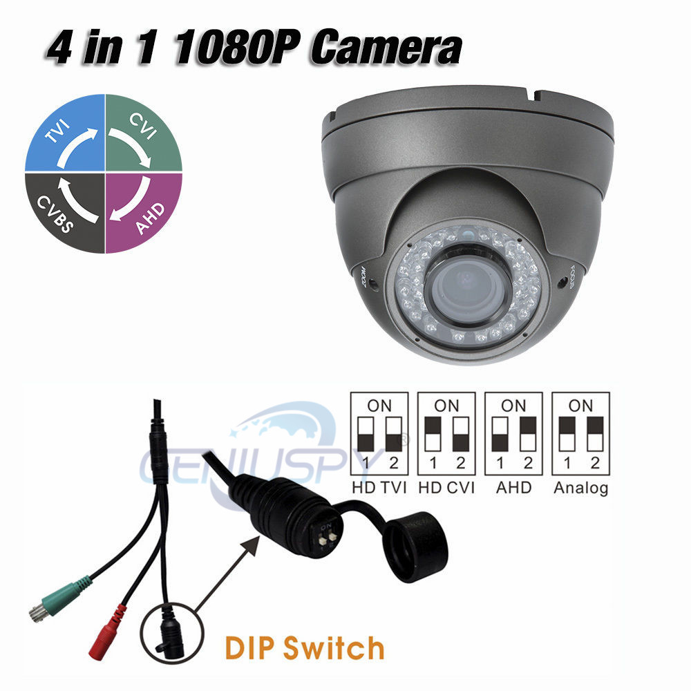High Quality Metal Housing TVI AHD CVI Analog 1080P 4 in 1 Dome IR Camera 2.0MP With 2.8-12mm Varifocal Lens Outdoor Support UTC social housing in glasgow volume 2