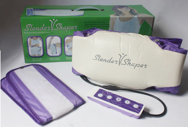 Cinto elétrico de massagem, cinto de emagrecimento para queima de gordura, modelador de lente com motores vibratórios, frete grátis