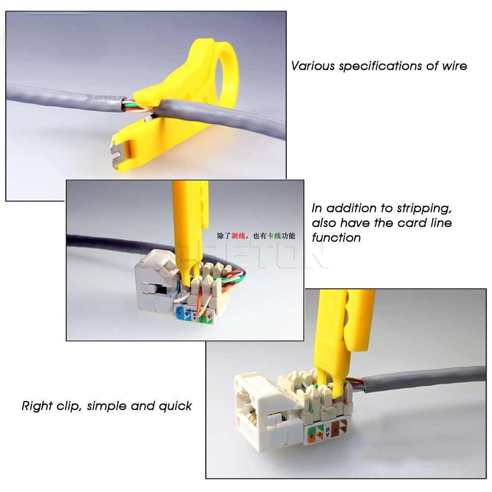1 шт. Портативный нож для зачистки проводов щипцы обжимной инструмент для зачистки проводов резак многоразовый инструмент