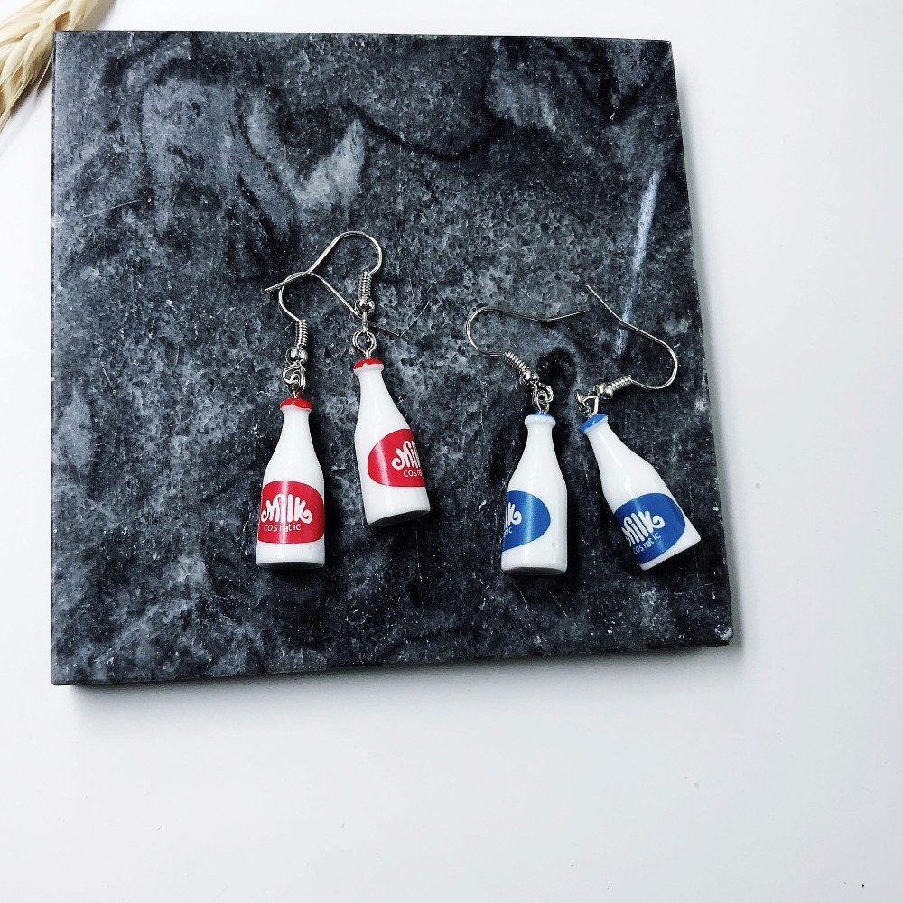 Milk Bottle Earrings 1