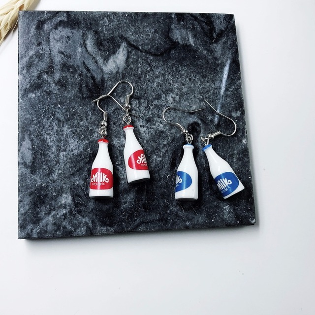 Milk Bottle Earrings 1