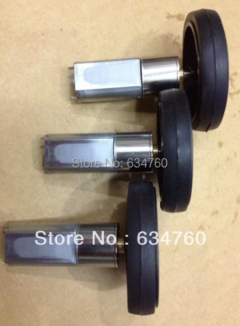 Spot supply DC Motor 3-6V 16GB050 gear motor + toy wheel 6v - czmotor store