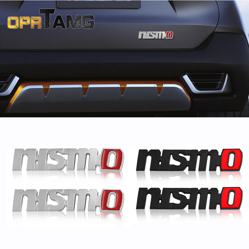 2pec/set Car Stickers Fender stickers Badge Emblem Car Styling For Nissan Nismo Tiida Teana Juke X-trail Almera Car Accessories