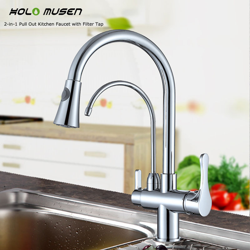water faucet for filtered water