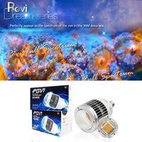 Led Aquarium Light 50W coral led lighting 30W Shallow sea Coral Deep sea Coral reef Fish Tank e27 led grow light bulb 1pcs/lot