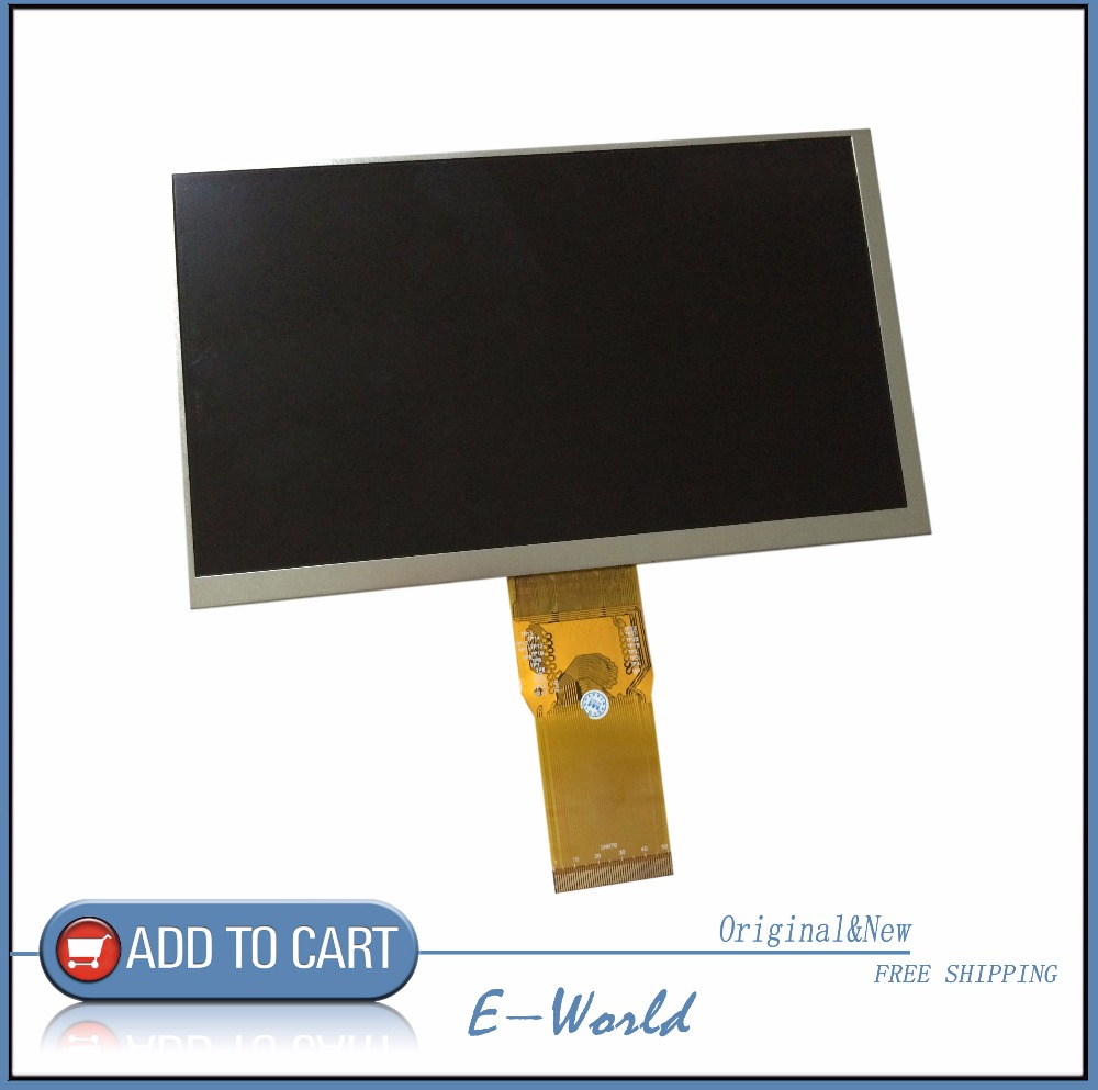 Original 7'' Inch 163*97mm 7300101463 E231732 HD 1024 * 600 LCD Display Screen For Cube U25GT Tablet PC Free Shipping