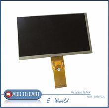 Original 7 ''pulgadas 163*97mm 7300101463 E231732 HD 1024*600 pantalla LCD para cubo U25GT tablet PC envío gratis(China)