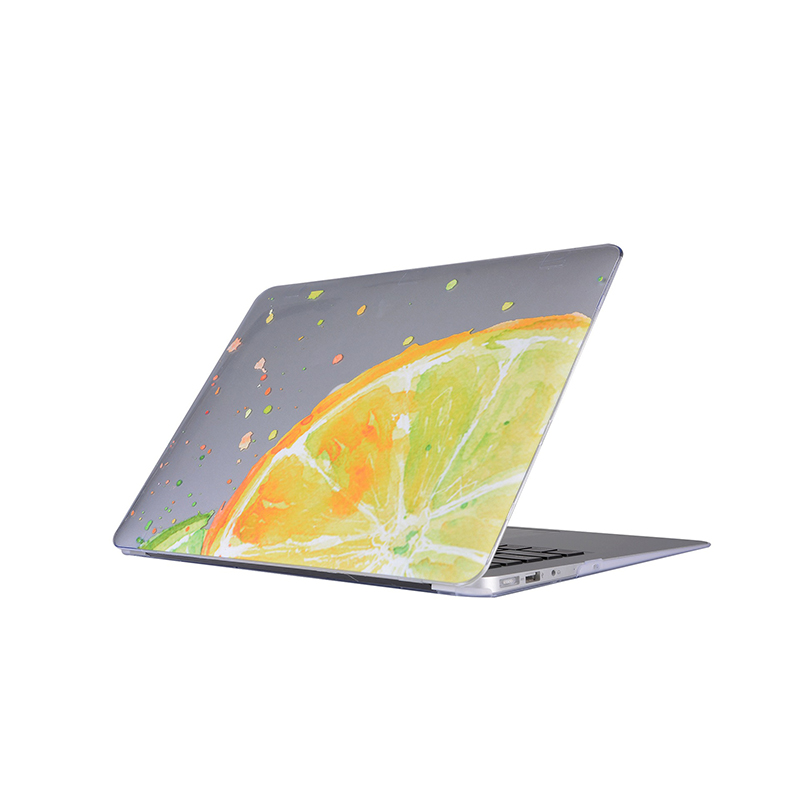 Laptop Shell Hard Cover Case for Macbook Air 11 13 Pro13 Retina 13 Inch Unisex Lemon Crystal Non-slip Notbook Protective Cases