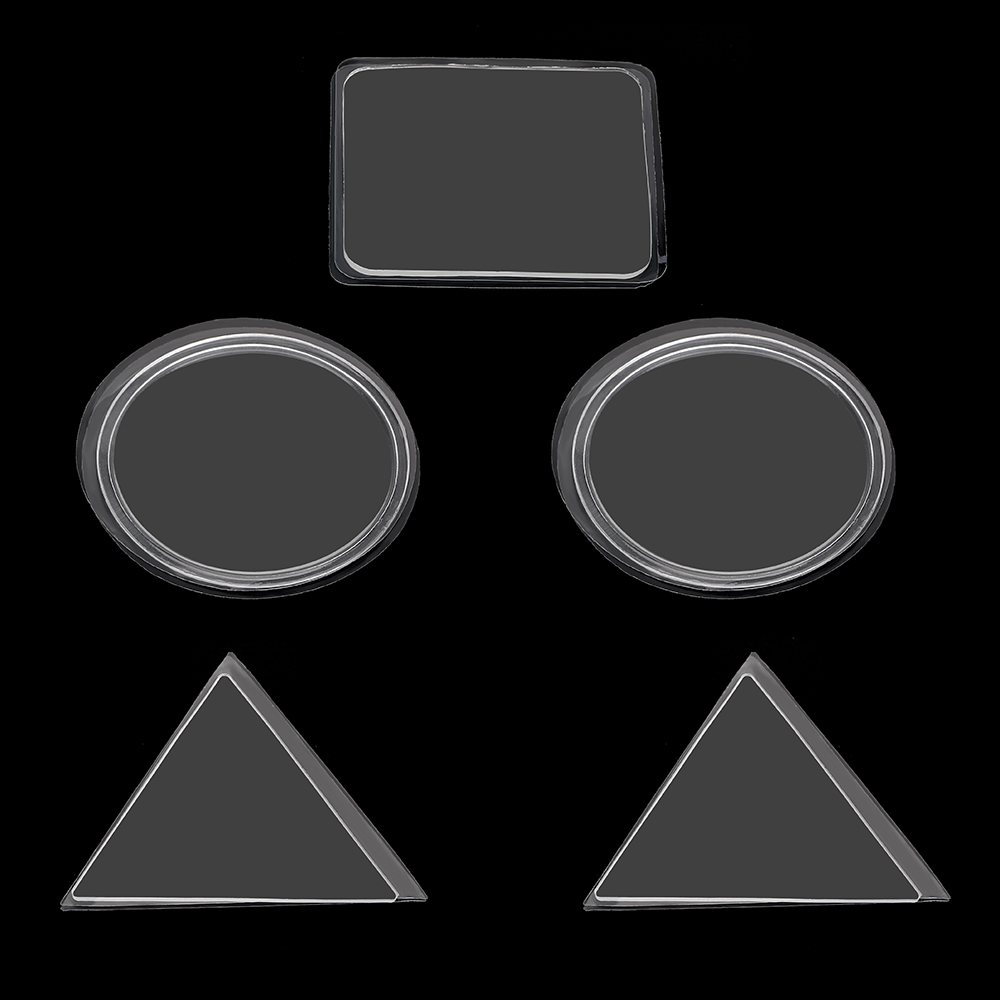 Car Mobile Phone Holder Anti-slip Mat Transparent Sticky Gel Pad Anti Slip Mat Wall Sticker Tablet Phone Bracket a pa lxh0074 zodiac pattern 24k gold mobile phone anti radiation sticker golden