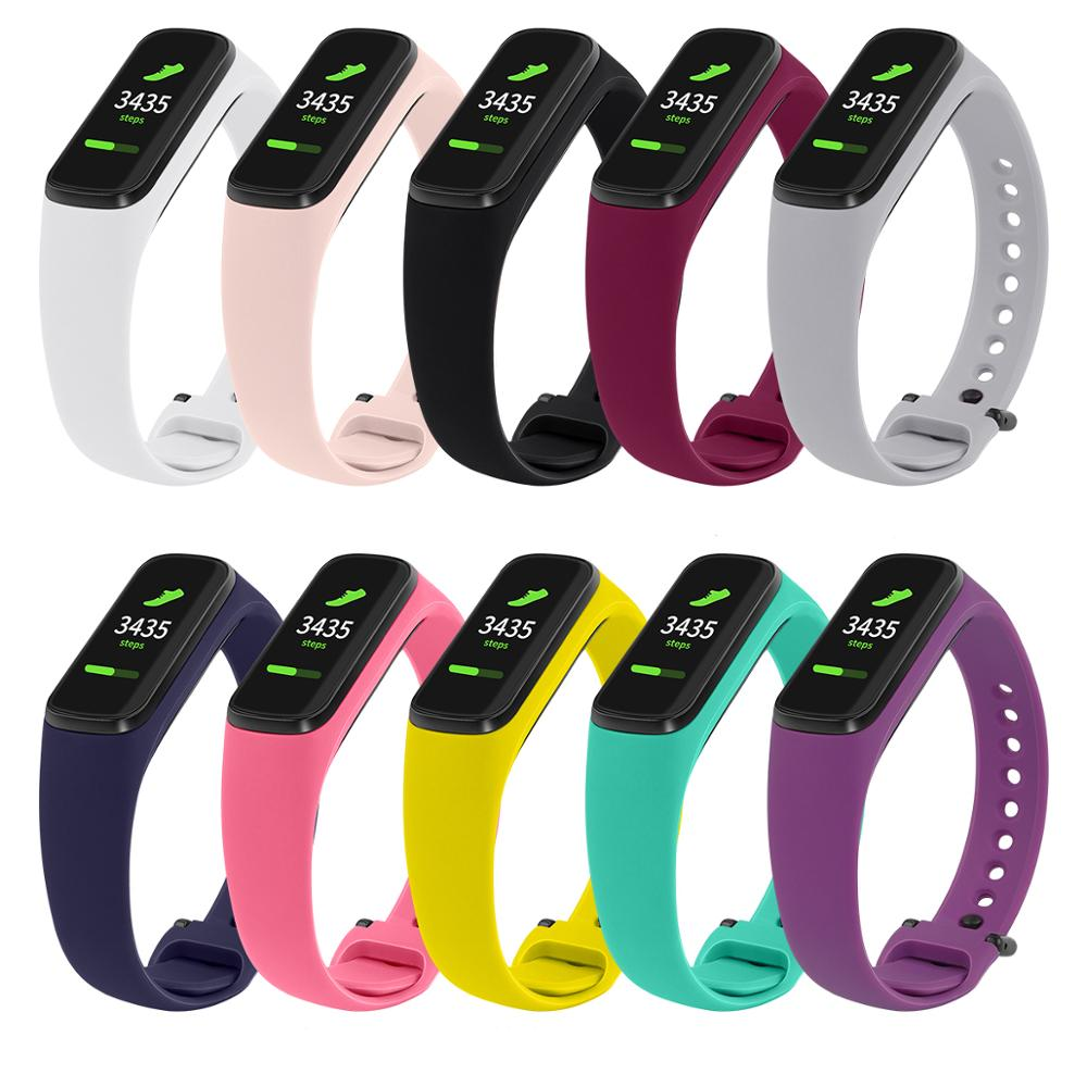 Bracelet For Samsung Galaxy Fit-E R375 Watch Band Silicone Replacement Watch Strap 91006