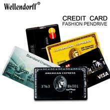 Credit Card Shape 4gb 8gb 16gb 32gb 64gb USB Flash Drive Pen Drive