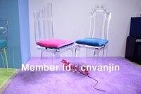Один Lux свадебные стул, акрил T2113, lucite обеденный события стулья