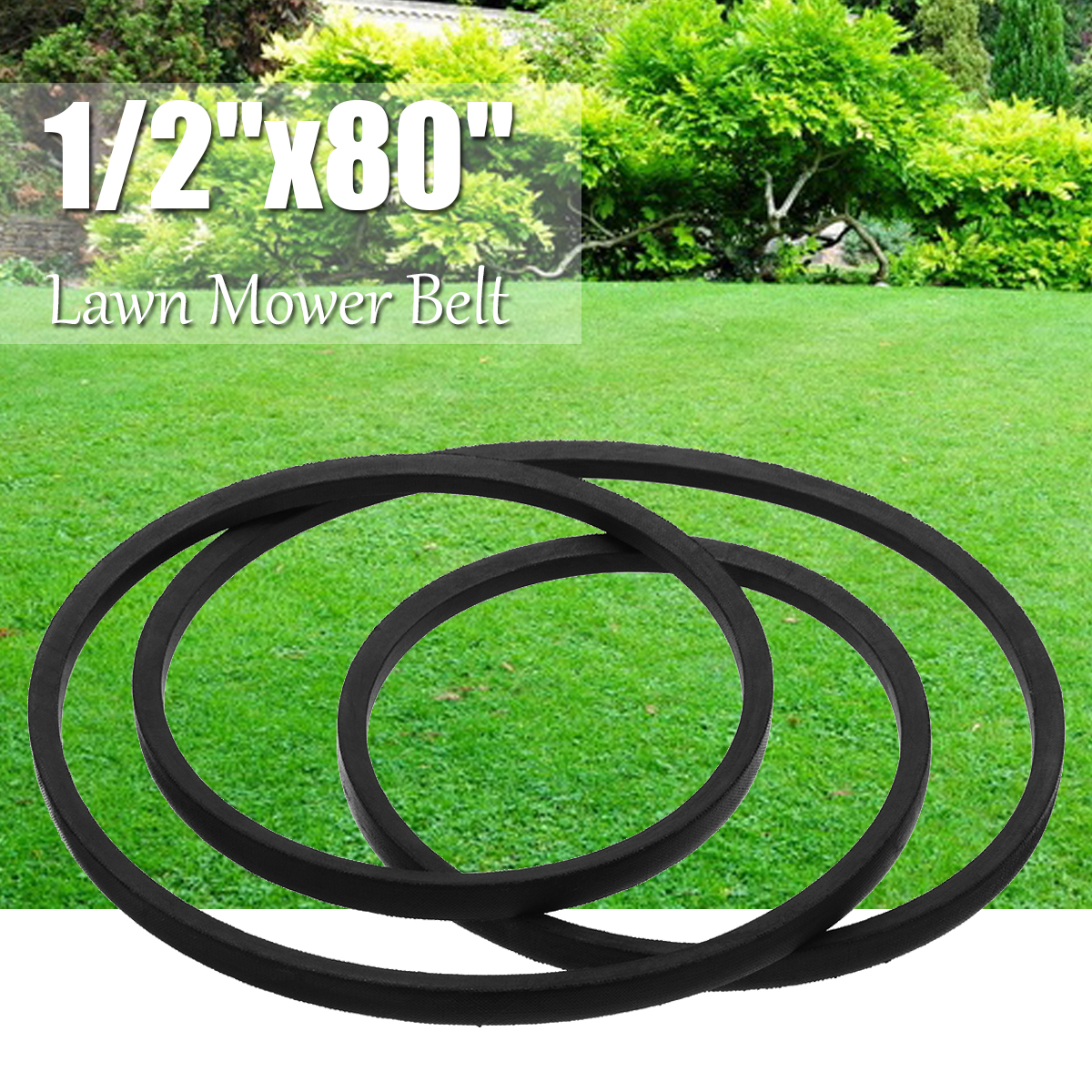 купить A78 Yard Machine Lawn Mower Tractor Drive V-Belt for Lawn Mover Parts 13mm 1/2