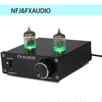 New FX AUDIO TUBE 01 Bile Preamp Tube Amplifier Preamp Buffer 6J1 Digital HIFI Audio Preamplifier