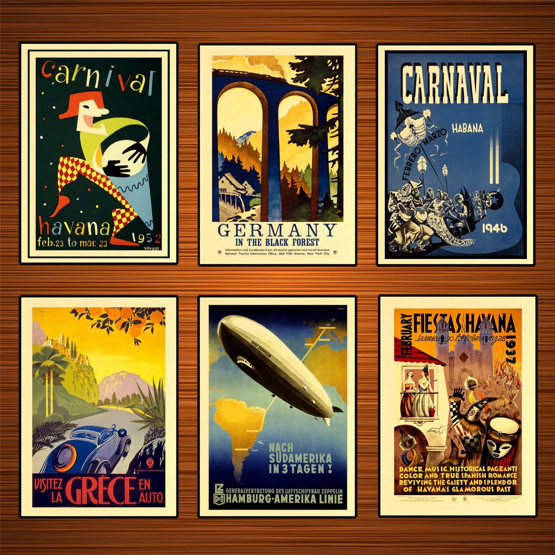 Vintage POSTER.Stylish Graphics.Bristish Zeppelin.Wall Art Decor.1250