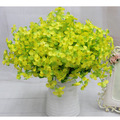 240 Pçs/lote Trevo Pequeno Campânula Flores Artificiais Flores de Seda Cabeças de Flor Decorativa DIY Festa de Casamento Handmade Flores VB044 P