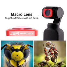 For Osmo Pocket Camera Filter Close Up Macro Lens/Star/Polarizing PL Filter For DJI Osmo Pocket Optical Glass Lenses Accessories