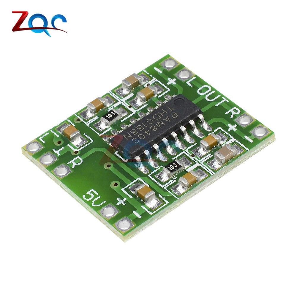 5pcs PAM8403 Super Mini Digital Amplifier Board 2 * 3W Class D Digital 2.5V To 5V Power Amplifier Board Efficient5pcs PAM8403 Super Mini Digital Amplifier Board 2 * 3W Class D Digital 2.5V To 5V Power Amplifier Board Efficient