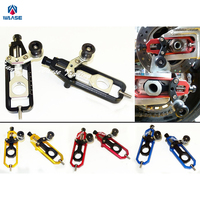 Motorcycle CNC Aluminum Chain Adjusters with Spool Tensioners Catena For Yamaha YZF R1 2009 2010 2011 2012 2013 2014