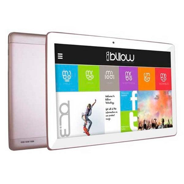 Tablet Billow 10.1 LCD HD IPS 1280x800 4G/3G Dual SIM Quad Core 1.2 GHz 16 GB 1 GB Ddr3 WiFi Android 7.1 Double Camara 5/8