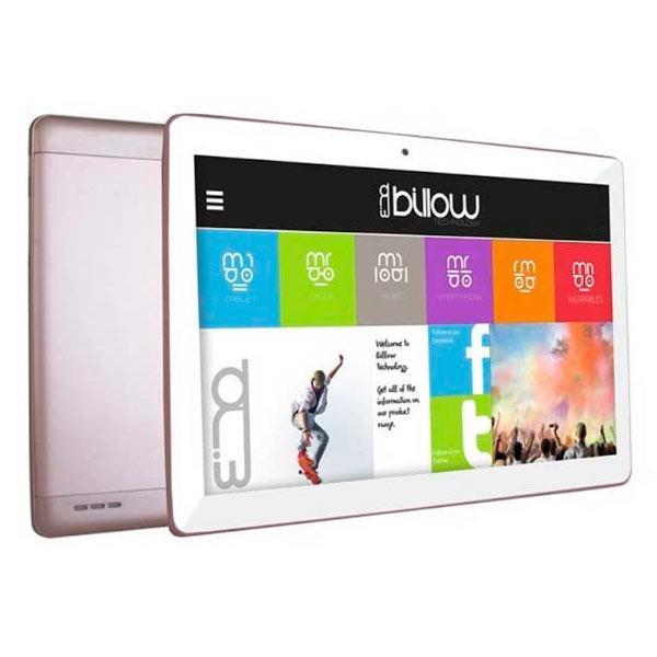 Tablet Billow 10.1 LCD HD IPS 1280x800 4G/3G Dual SIM Quad Core 1.2 GHz 16 GB 1 GB Ddr3 WiFi Android 7.1 Double Camara 5/8