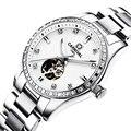 Schweiz Karneval Frauen Uhren Luxus Marke damen Automatische Mechanische Uhr Frauen Wasserdichte relogio feminino 8685L-16