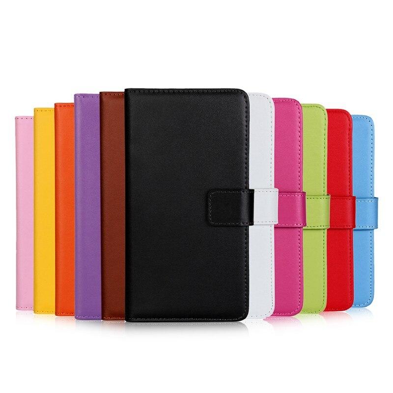 Dompet kulit asli, Kasus Flip Cover untuk iPhone 7/7 Plus / 6 s Plus - Aksesori dan suku cadang ponsel - Foto 2