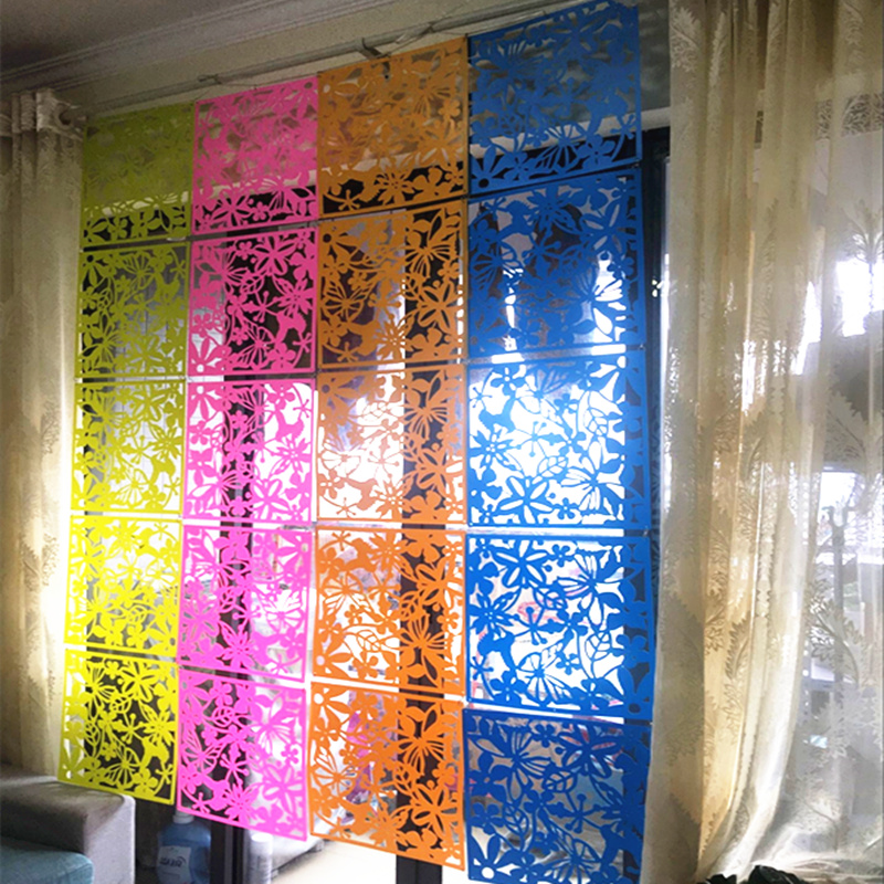 Hanging Screen Carve Patterns Designs Woodwork Screen Wall Stick Window Film Pvc Hotel Partition