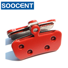 2 Pairs Red Sintered Bicycle Brake Pads for SRAM Avid X0 Trail for SRAM Guide R RS RSC MTB Mountain Bike Disc Brake Parts r mountain r mountain rm002cudbs49