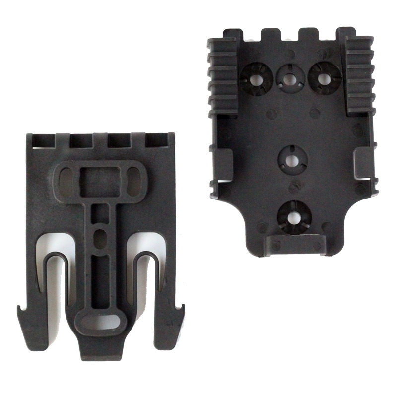 Quick Locking System Kit QLS Locking Fork & Mount Plate For Tactical Holster QLS Holster Attachments With Mounting Hardware