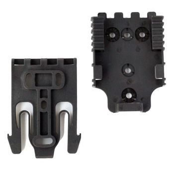QLS szybkie system blokowania zestaw z QLS 19 QLS 22 polimeru czarny etui na akcesoria do przypadku pistoletu z elementy montażowe tanie i dobre opinie QingGear Kieszeń Multi Tools B0041-40