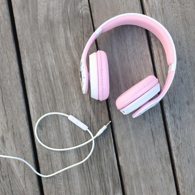 SOE Pink HIFI Music Headphones For Girls Casque Audio Headphones For Computer Headset For Phone Fone De Ouvido Auriculares 3