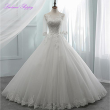 LCELAND POPPY A-Line Wedding Dress Floor Length Dress with