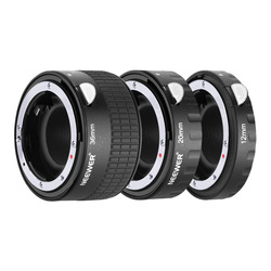 Neewer Metal Auto Focus AF Macro Extension Tube Set 12mm,20mm,36mm for Nikon AF,AF-S Lens DSLR Camera, Such as D7200 D7100 D7000