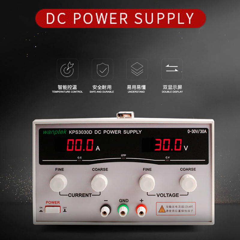 Wanptek High power LED display adjustable 15V 30V 60V 100V 10A 20A 30A 40A 50A 60A bench dc switching power supply for lab