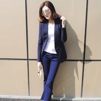Тонкий элегантный Для женщин Пиджаки для женщин и Куртки плюс Размеры женский Бизнес костюм casaco feminino jaquetas костюм Блейзер Дамы Топ 50n0426