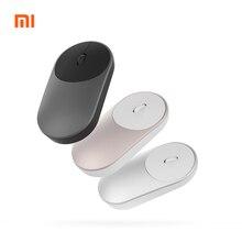 Mini Original Xiaomi ratón inalámbrico de 2,4 GHZ Bluetooth 4,0 portátil de aleación ABS ratón 10 M Rango de detección para Windows7 macOS
