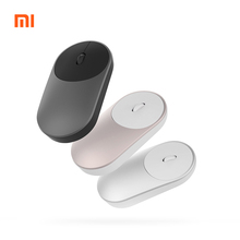 Original Mini Xiaomi Wireless Mouse 2.4GHZ Bluetooth 4.0 Portable Alloy ABS Game Mouse 10M Sensing Range For Windows7 macOS