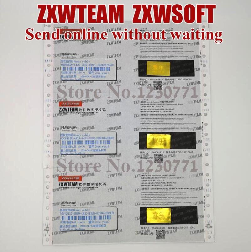 2019 Original ZXWTEAM ZXWSOFT 3,0 software handy reparatur zeichnung 1 jahr (Kein versand, zeit warten, online lieferung)