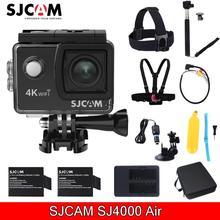 """Новый SJCAM SJ4000 Air 2.0 """"Экран Wi-Fi 4 К 30 кадров в секунду 16mp 30 м Водонепроницаемый Дайвинг Спортивная мини камера с различными Интимные аксессуары"""