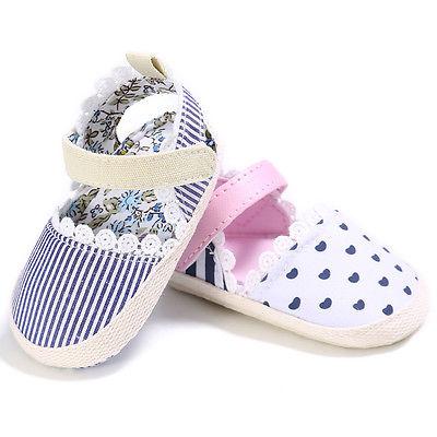 0-18 Mt Für Alle Saison Kleinkind Weiche Sohle Neugeborenen Mädchen Krippe Lässige Schuhe Prewalker Rutschfeste Kinder