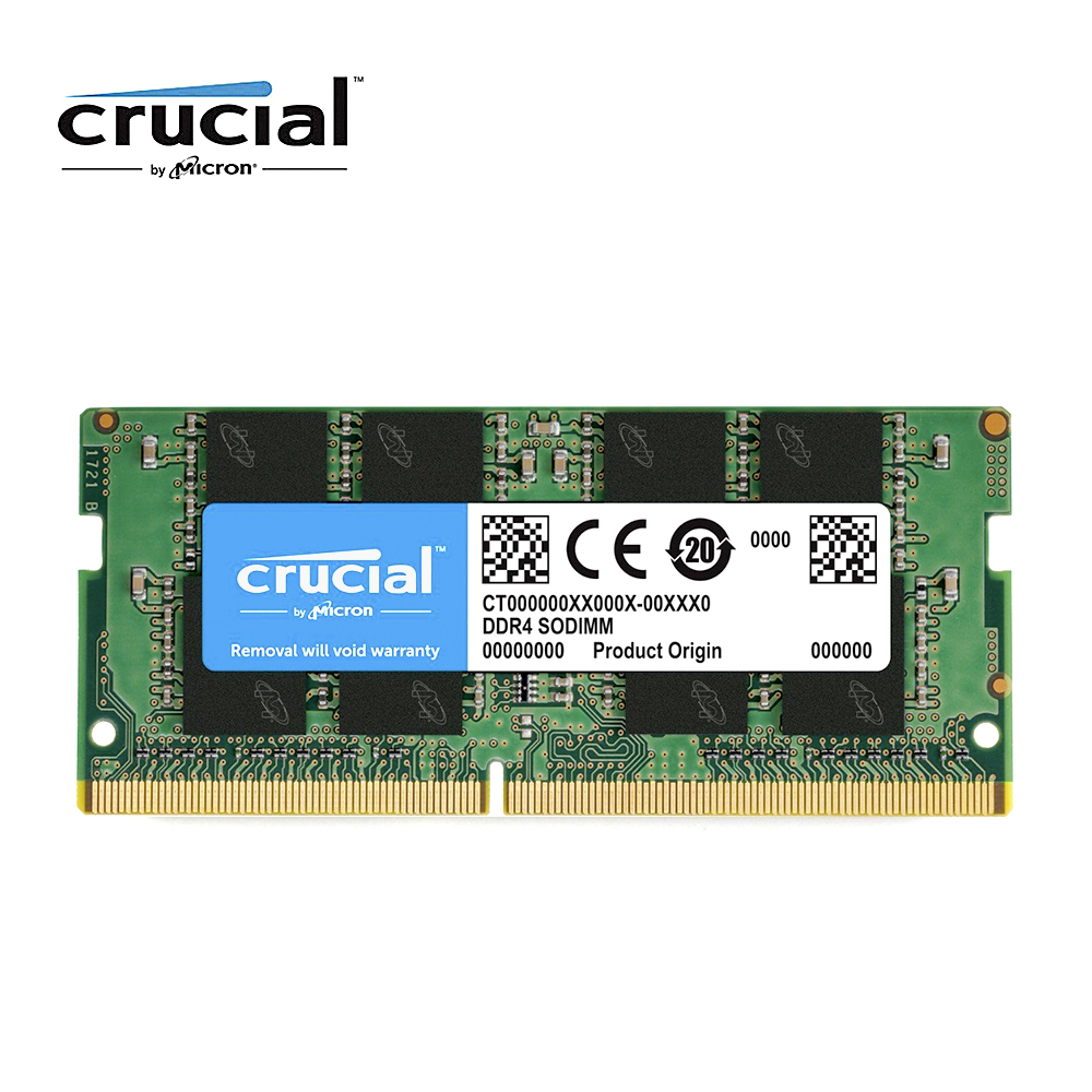 Crucial DDR4 RAM 8 gb 4 gb 16g ORDINATEUR PORTABLE 2400 mhz 2666 mhz 2133 mhz 1.2 v CL17 Mémoire so-dimm ddr4 Pour ordinateur portable