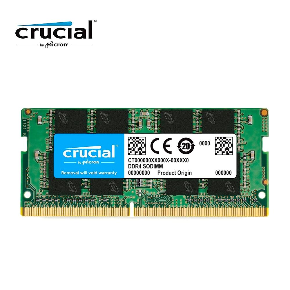 Оперативная память Crucial DDR4 DDR4 8 ГБ 4 ГБ 16 ГБ 2400 МГц 2666 МГц 2133 МГц 1,2 в so-dimm ddr4 для ноутбука