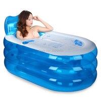 Banheira inflável dobrável  banheira de pvc portátil para adultos banho grosso não tóxico seguro e ecológico