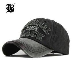 [FLB] лидер Ретро Омывается Бейсбол Кепки установлены Кепки Snapback шляпа для Для мужчин Bone Для женщин Gorras Повседневное Casquette письмо черный