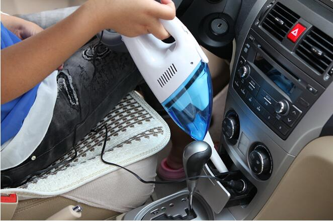 Handheld vacuum cleaner wet and dry 900mbar mini portable 12v universal car rechargeable