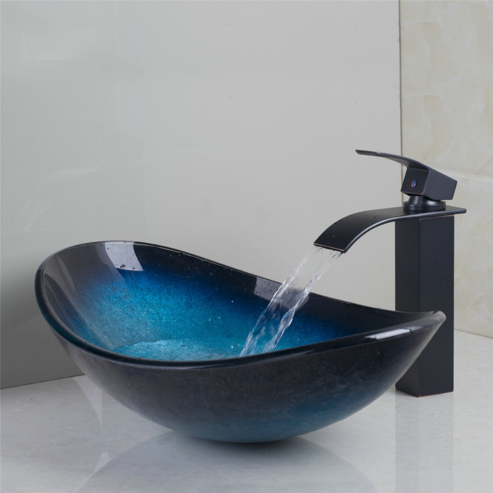 Achetez en gros verre lavabos en ligne à des grossistes verre ...