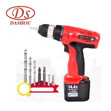 DS Power Tools Charging 14.4V Battery Rechargeable Electric Screwdriver Home Mini Drill DS14DV2
