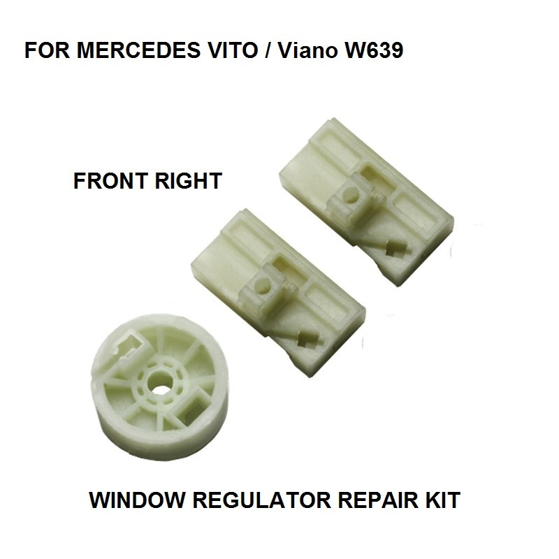 CAR ELECTRIC WINDOW REGULATOR KIT FOR MERCEDES VITO / Viano W639 WINDOW REGULATOR ROLLER FRONT RIGHT 2003-2016