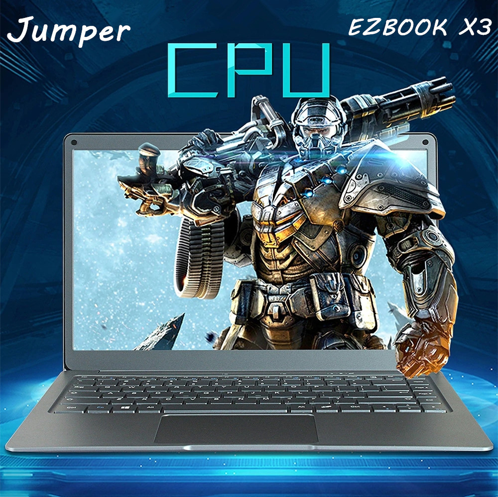 Jumper EZbook X3 Laptop 13.3 Inch Windows 10 Intel Apollo Lake N3350 Quad Core 1.1GHz 6GB 64GB HDMI Camera Dual WiFi Laptops